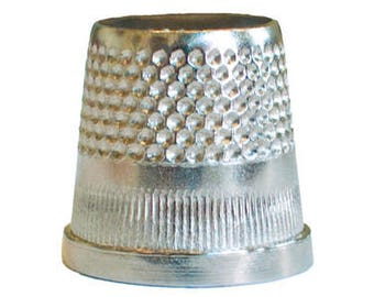 C.s. Osborne Closed End Sewing Thimble 3/4 Inches - No. 11