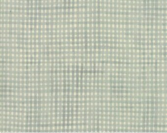 Garden Notes - Picnic Plaid Light Blue 609611 - 1/2yd
