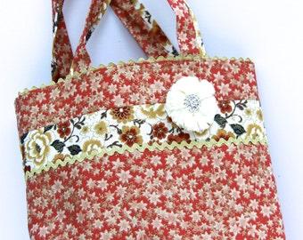 """Tote """"Kirei na niwa"""" Beautiful Garden shopping bag"""