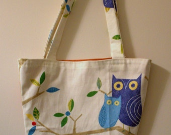 Small tote bag - birds