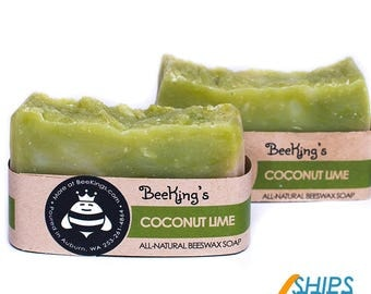 Beeswax Soap - Coconut Lime (2 Pack)