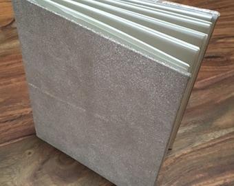 Metallic Silver Journal/Sketchbook/Album