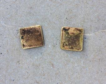 Brass Patina Studs