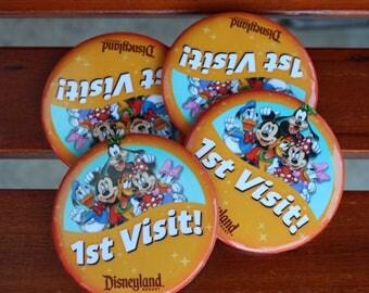 Disney Buttons, 1st Visit!