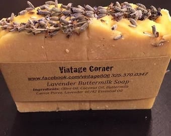 Lavender Buttermilk baby soap
