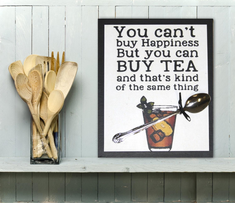 Kitchen Decor Sweet Tea Happiness Kitchen Art Kitchen
