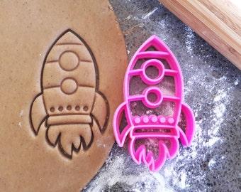 3D Printed Rocket Cookie Cutter