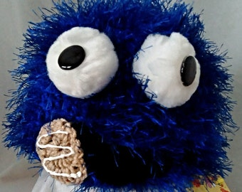 Not Cookie Monster - Imposter Blue Monster hat