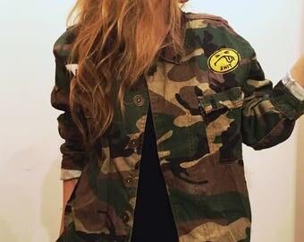 Vintage army jacket 90's