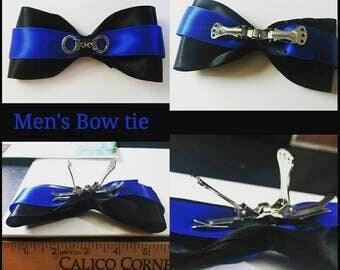 Thin Blue Line Men Bow-Tie