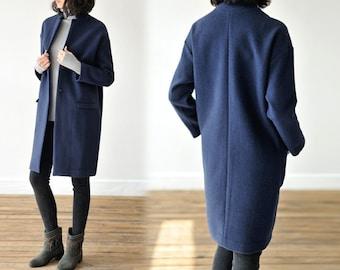 Knee length overcoat | Etsy