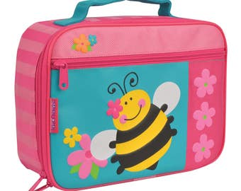 BEE lunchbox Stephen Joseph free monogram or name