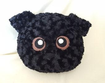 Black Lab Stuffed Animal Plushie, Plush