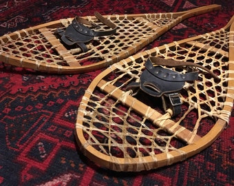 Antique Wooden Snowshoes, Great Shape