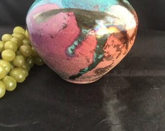 E024 Clay handmade vase