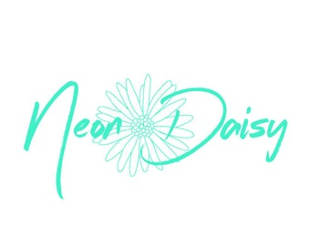 Hand Drawn Daisy Premade Logo Design