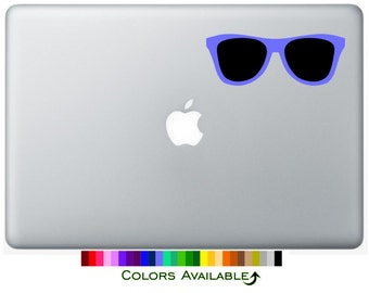 Sunglasses Laptop Decal