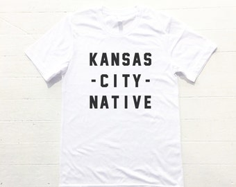Kansas City Native Tee - white