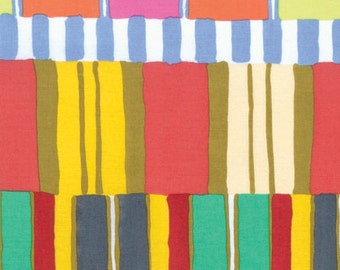 LAYERED STRIPE Yellow ARTISAN by Kaffe Fassett Sold in 1/2 yd increments