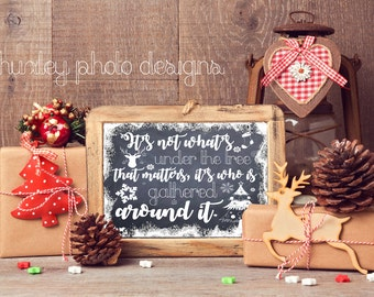 Christmas Poster INSTANT DOWNLOAD 11x14 and 16x20 Sizes