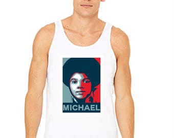 Young MJ Election Themed Tank 3480