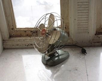 Zero Desk Fan Vintage Mid-Century Decor