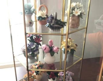Collection of flowers - Franklin Mint