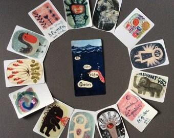 3 ART CARDS - take your FAVORITES
