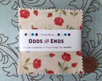 Odds and Ends by Cosmo Cricket for Moda Fabrics - MINI Charm Pack
