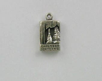 Sterling Silver Carlsbad Cavern Charm