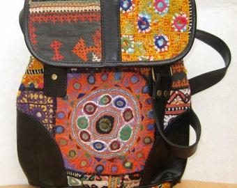 Handbag  / banjara  bag/colorful bag / shoulder bag/ fashion bag /tribal bag/ embroiderd bag/ gift item.