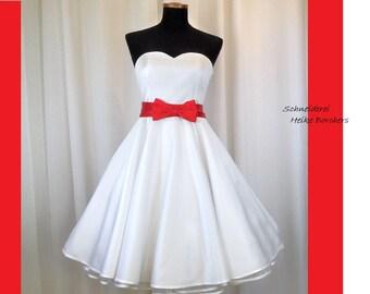 Wedding dress, wedding dress bridal gown, rockabilly wedding