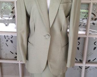 Vintage Ann Taylor 1990's Wool Suit