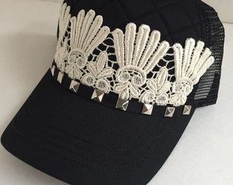 Womens Hats, Lace Hats, Cadet Hats, Hats, Military Hat, Womens Hats, Military Cadet Hats, Bling Hats