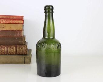Antique Bottle Hamburg M.Hoff 1800's Beer Bottle