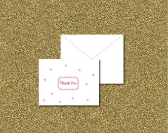 Thank You Folding Cards - Kids thank you