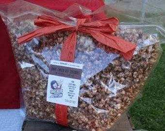 Party Bag - Gourmet Popcorn - Made in Vermont - Serves 20-40 - Maple, Herb, Chipotle, Classic, Chocolate, Vanilla, Pumpkin, Berry & more!