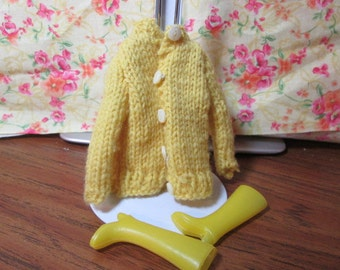 Vintage Barbie Sweater and boots
