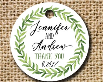 Gift or Favor Thank You Tag - Set of 10