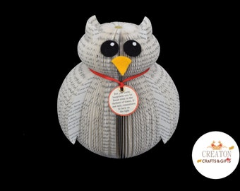 Harry Potter Hedwig - Harry Potter Gift - Owl Gift - Personalised Harry Potter owl gift - Hedwig - Personalized Gift - Harry Potter Book