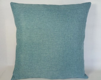 Turquoise Pillow Cover, Home Decor Pillow, 18x18 Pillow