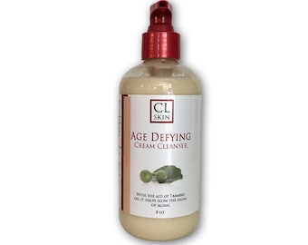 Age Defying Cream Cleanser, sulfate free, nourishing, hydrating and anti-aging