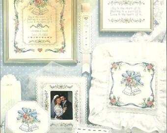 Dimensions:  Wedding Bells Cross Stitch Chart