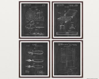 Pizza Patent Art - Pizza Art - Pizza Wall Art - Pizza Poster - Pizza Decor - Kitchen Poster - Kitchen Art - Pizza Place - Italian - Italy