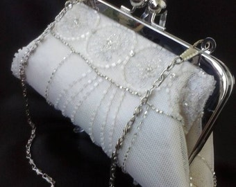 In memory of clutch purse Lace wedding clutch ivory champagne lace bridal clutch memory clutch lace handbag BBsCustomClutches