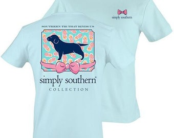 Monogrammed Simply Southern Tie That Binds Us TShirt