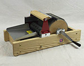 Strauch Drum Carder. Series 200, 128 psi or 98psi cloth. Free Shipping. Chain drive, wood frame, standard width.