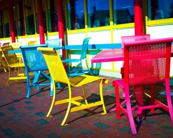 Annapolis Seats Photograph | Pack of Notecards or Postcards