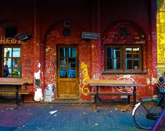 Amsterdam Graffiti Photograph | Pack of Notecards or Postcards