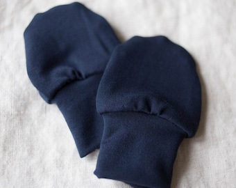 SALE! Bamboo Newborn Anti Scratch Baby Mittens / Baby Hand Mitts